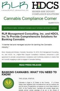 Cannabis Compliance Corner
